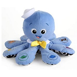 Baby Einstein Octoplush Musical Plush Toy - Best Musical Toys for Babies: Educational huggable toy