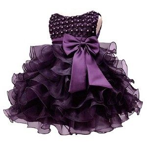 Jup'Elle Baby Girl Dresses Ruffle Lace Party Dress  - Best Party Wear Dress for Baby Girl: Are you a royal baby?