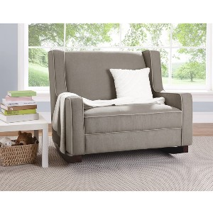 Baby Relax Hadley Double Rocker Chair - Best Rocking Chair for Nursery: Spacious Rocking Chair