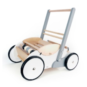 Bajo Baby Walker - Best Wooden Toys for Toddlers: Exceptionally sturdy