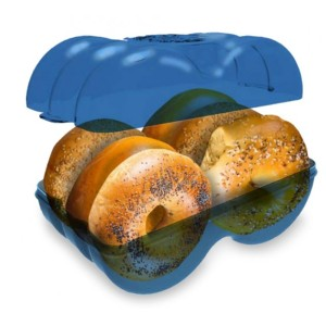 Muffin Fresh Bagel Storage Container - Best Leftover Food Storage Containers: Perfect for bagel lovers