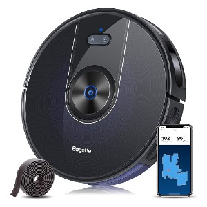 Bagotte BG800 Robot Vacuum Cleaner - Best Robot Vacuum Cleaner for Pet Hair: Autoboost Technology