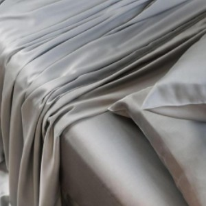 CleanBamboo™ Bamboo Charcoal Flat Sheet - Best Bamboo Bed Sheets: Naturally Antimicrobial