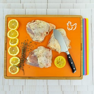W. INNOVATIONS Bamboo Cutting Board - Best Cutting Boards for Chicken: Everything you want