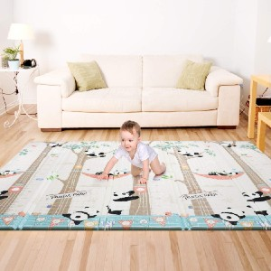 Bammax Play Mat - Best Non Toxic Play Mat: Bring kid's imagination to life