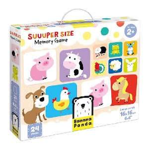 Banana Panda Suuuper Size Memory Game - Best Educational Toys for 1-2 Year Olds: Excellent way to boost memory