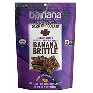Barnana Organic Crunchy Banana Brittle - Best Healthy Snack: Mouthwatering cookies