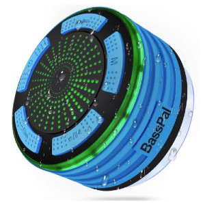 BassPal Shower Speaker - Best Waterproof Speaker: Your shower pal