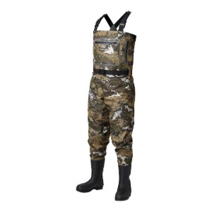 Bassdash Breathable Ultra Lightweight Veil Camo Waders  - Best Waders for Duck Hunting: Invisible!