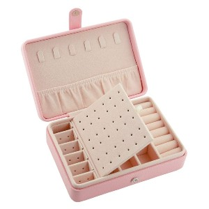 Bausweety  Jewelry Box  - Best Jewelry Boxes for Earrings: Removable Compartment