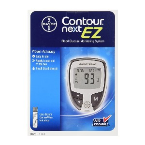 Bayer Contour Next Ez Blood Glucose Monitoring Kit  - Best Blood Glucose Meters: Best economical pick