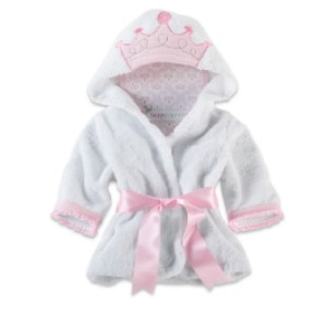 Baby Aspen Little Princess Hooded Spa Robe - Best Robes for Hot Tub: Cute Robe for Your Kids