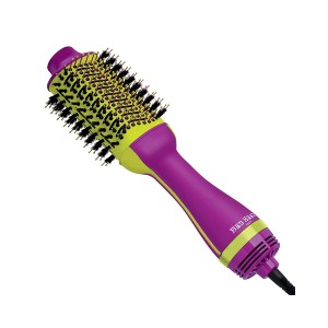 Bed Head One-Step Hair Dryer and Volumizer Hot Air Brush - Best Hair Dryer with Brush: Ego Boost Mixed Pattern Bristles for Fearless Volume