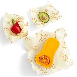 Bee's Wrap Reusable Beeswax Food Wraps - Best Leftover Food Storage Containers: Easy to clean