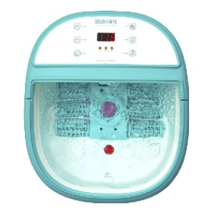 Belmint Foot Spa Bath Massager with Heat - Best Foot Massager with Water: Timer and Temperature Control
