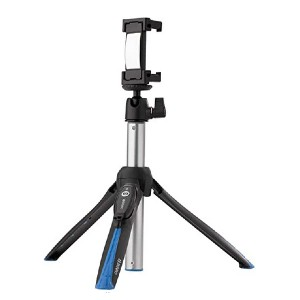 Benro BK15 Mini Tripod and Selfie Stick - Best Selfie Stick Tripods for Smartphone: For 48-100mm wide smartphone