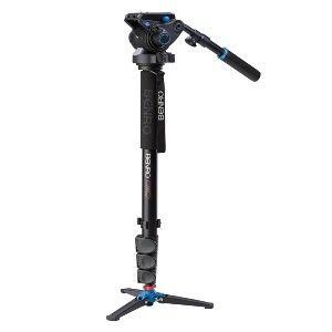 Benro Aluminum 4 Series Flip-Lock Video Monopod - Best Monopods for Video Camera: Great Stability Monopod