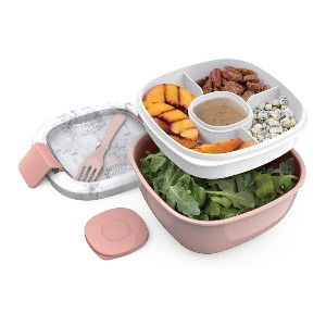 Bentgo Stackable Lunch Container - Best Lunch Boxes for Adults: Extra-Large Salad Container