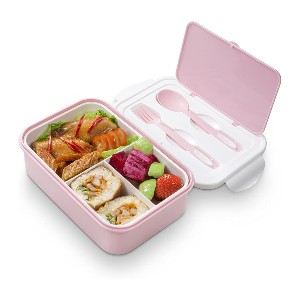 Thousanday Bento Lunch Box - Best Lunch Boxes for Kids: Leak-Proof Compartment Tray