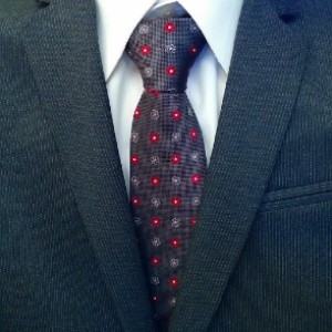 The Dark Knot Berkshire Abstract Silk Tie - Best Ties for Blue Suit: Easy to mix and match