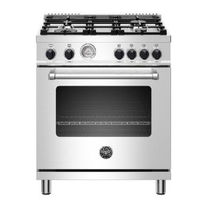 Bertazzoni MAST304GASXV Master Series 30 Inch All Gas Range - Best Ranges for Home Chefs: Dual convection
