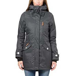 Berydale  Women's Wind and Waterproof Parka Jacket - Best Raincoats for Iceland: This jacket gives you the warmest hug