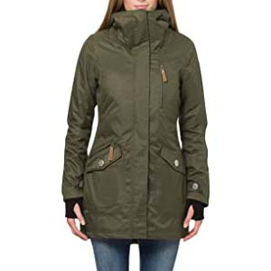Berydale Women's Wind and Waterproof Parka Jacket - Best Raincoats with a Suit: Parka with handy pocket