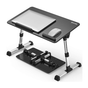 Besign Adjustable Latop Table - Best Laptop Stand for Bed: Easy Adjustable 5 Height Positions