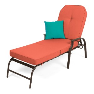 Best Choice Products Adjustable Outdoor Chaise Lounge - Best Outdoor Chaise Lounge: Adjustable Backrest Lounge Chair