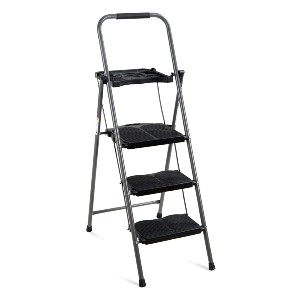 Best Choice Products 3-Step Ladder - Best Step Ladders: Wide Steps and Anti-Skid Rubber Feet