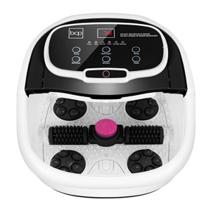 Best Choice Products Motorized Foot Spa  - Best Foot Spa with Automatic Rollers: Easily modify the setting