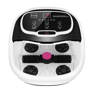 Best Choice Products Motorized Foot Spa Bath Massager - Best Foot Spa for Calluses: Add salts, herbs, and oils