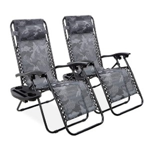 Best Choice Products Set of 2 Zero Gravity Lounge Chair - Best Folding Chair for Back Support: For all occasions