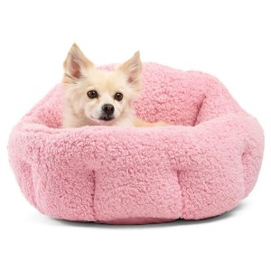 Best Friends by Sheri OrthoComfort Deep Dish Cuddler - Best Dog Beds for Puppies: Bed with Pet-Safe Materials