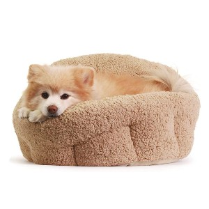 Best Friends by Sheri Self-Warming Cat and Dog Bed - Best Dog Beds for Small Dogs: Waterproof Bottom Dog Bed