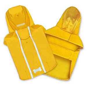 Best Pet Supplies Voyager Waterproof Dogs Rain Poncho - Best Raincoats for Corgis: Works great and looks great