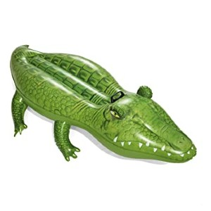 Bestway Inflatable Crocodile Pool Float  - Best Floats for Adults: Extraordinary shape