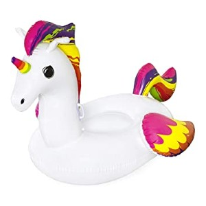 Bestway Inflatable Unicorn Pool Float  - Best Floats for Adults: Fun unicorn ride