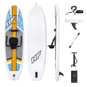 Bestway Hydro-Force Oceana Inflatable Stand Up Paddle Board  - Best Paddleboard for Yoga: A SUP or kayak? Both!