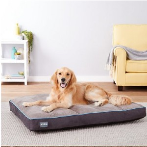 Better World Pets Orthopedic Pillow Dog Bed w/Removable Cover - Best Dog Beds for Large Dogs: Waterproof Cover Bed
