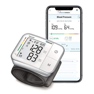 Beurer Bluetooth Smart, Wireless & Automatic Wrist Blood Pressure Monitor  - Best Blood Pressure Monitor with App: It's fully automatic