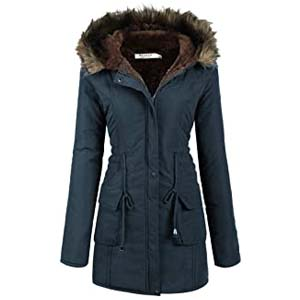 Beyove Womens Hooded Warm Winter Coats - Best Raincoats for Iceland: Gorgeous in flattering fit