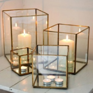 nkuku Bimala Brass Lantern - Best Outdoor Lanterns: Look Pretty as a Decorative Display Box