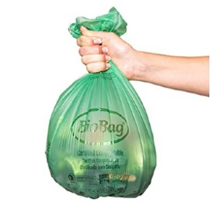 BioBag Compostable 3 Gallon Food Waste Bags - Best Compost Bin for Beginners: Extraordinary plastic bag
