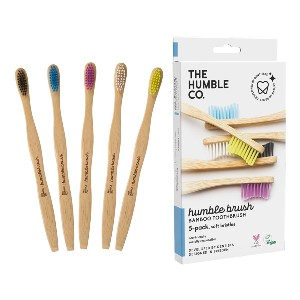 The Humble Co. Biodegradable Bamboo Toothbrush - Best Biodegradable Toothbrush: Simple and effective