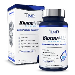 1MD BiomeMD® for Women - Best Probiotics for Vaginal Health: Provide Crucial Balance to Vaginal Microbiome