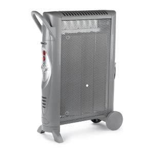 Bionaire Silent Micathermic Console Heater - Best Space Heater Quiet: Micathermic heating element