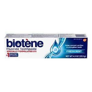 Biotene Fluoride Toothpaste - Best Toothpaste to Prevent Cavities: Best for dry mouth