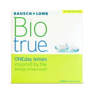 Bausch & Lomb Biotrue  - Best Contact Lenses for Astigmatism: Daily Disposable Contact Lenses