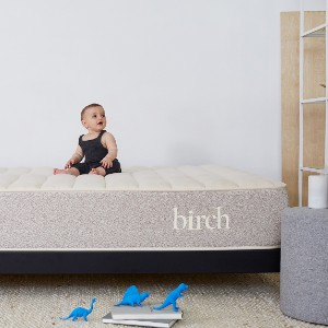 Birch Natural Mattress - Best Latex Hybrid Mattress for Side Sleepers: Airflow and Breathability